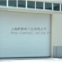 上海萨都奇电动加强型彩钢抗风卷帘门厂家