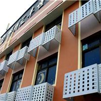 铝合金空调罩-新式镂空铝板空调外机保护罩