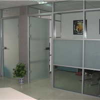 供应天津东丽区玻璃门,不锈钢玻璃门安装