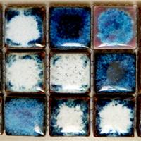 供应25*25mm窑变陶瓷马赛克,釉色定制