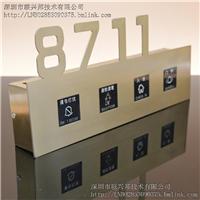 联兴邦供应不锈钢智能电子门外显示房号牌