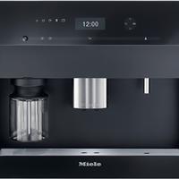 Miele美诺嵌入式咖啡机一键操作自动清洗