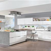 nobilia柏丽德国厨房整体橱柜烤漆门板白色