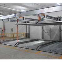 西安两层升降横移租赁 机械式车库参数 立体车库投资