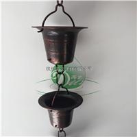 江苏铜雨水接水链 铜雨水接收器热销产品