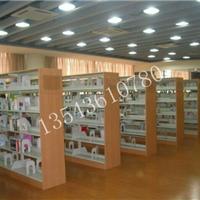 供应佛山图书馆书架钢木书架出口书架厂家