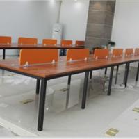 简约办公桌《开放式办公桌,职员办公桌》