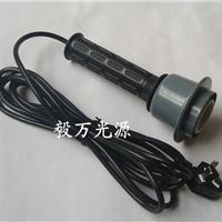 手持式 螺口E27灯头 压轴灯头含电源线 插头