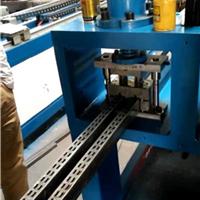 福力锌钢护栏自动冲孔机  管材自动冲孔机