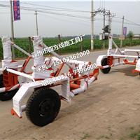 电力线路放线车5吨 电力电缆敷设拖车