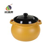耐德康耐热1L陶瓷砂锅双耳韩式小容量