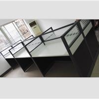 南昌现代屏风工位桌子,电脑工位桌,卡位桌