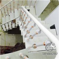 沈阳水晶立柱楼梯双梁楼梯