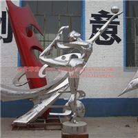 抽象不锈钢人物雕塑 抽象不锈钢雕塑