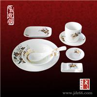陶瓷餐具套件定做高档酒店摆台餐具订制