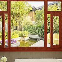芜湖现代风格弧形一体窗成品哪里可以批发到