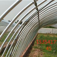 农用大棚支架温室冷棚支架圆管大棚支架生产