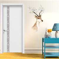 豪迈木门YS3017热销优质烤漆门室内白色静谧房间门