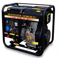 进口400A的电焊机需要多大发电机带