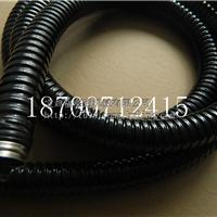 单扣不锈钢包塑金属软管 穿线蛇皮管Φ32