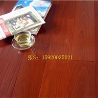 深圳红檀香实木地板 香脂木豆实木地板批发