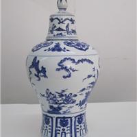 采购将军罐器形陶瓷酒瓶厂家批发1斤-10斤陶瓷酒瓶加工厂生产