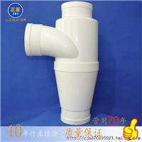 供应正亚 pvc旋流三通 排水管件 管材