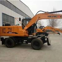郑州出厂价销售恒特HTL135轮式挖掘机