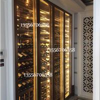 珠海中山酒柜定制不锈钢酒柜定做
