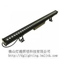 LED洗墙灯防水七彩大功率桥梁工程投射灯