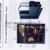 亚铝ATG90H(DM90)注胶推拉门窗