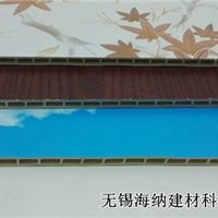 高邮竹木纤维集成墙板安装海纳建材速装墙板