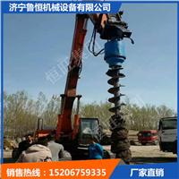 挖机改螺旋钻机 山东挖改螺旋生产厂家