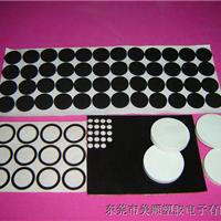 广州背胶圆形黑色泡棉海绵脚垫