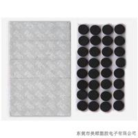 嘉兴不干胶圆形黑色EVA泡沫垫
