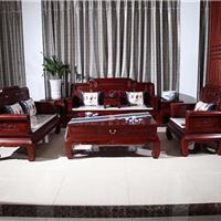 北京红酸枝国色天香沙发厂家直销价格优惠