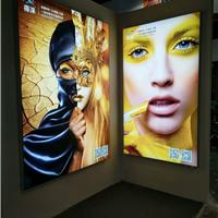 厂家直销室内广告灯箱UV软膜灯箱卡布灯箱