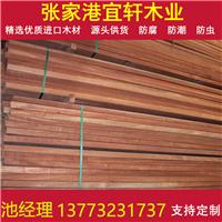 柳桉木实木地板实木柱子厂家直销支持定做
