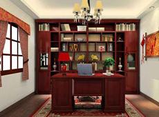 武汉雅客居定制实木书柜现代风格书架