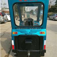 供应电动半封闭式清扫车 电动清洁车