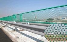 直销高速高架铁路防抛网防眩网钢板网护栏