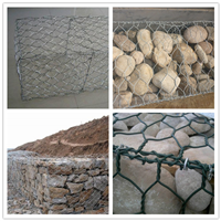 厂家供应石笼网雷诺护垫石头网河堤加固网