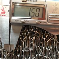 耐腐蚀承重6mm不锈钢铁链条