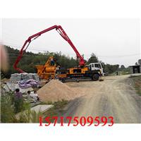 小车载式混泥土泵车,混凝土浇筑泵车公司