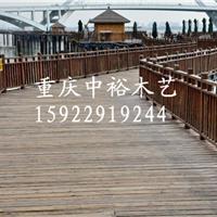 重庆高端防腐木|木栈道|防腐木凉亭|花架