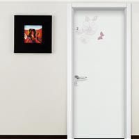 豪迈新款简约室内门家居彩绘环保木门