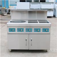 電磁煲仔爐 自動煲仔飯機器 4頭電磁爐