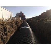 厂家直销支持混批HDPE大口径塑钢缠绕管DN2000