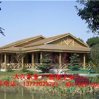 渭南木屋木别墅设计木廊架