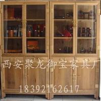 西安古典/红木/榆木/仿古书柜